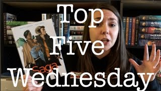 Books That Feature Traveling | Top Five Wednesday