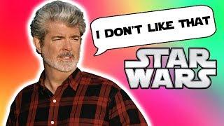 George Lucas' Response to KILLING LUKE - Star Wars Explained