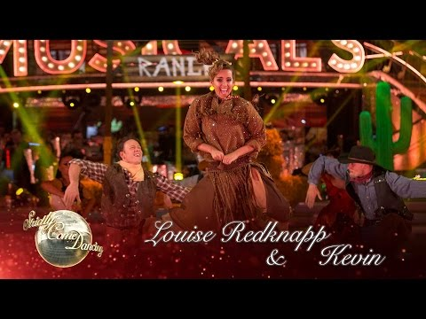 Louise Redknapp & Kevin Quickstep to 'The Deadwood Stage' from Calamity Jane - Strictly 2016