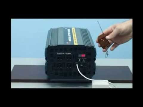 3000 Watt Power Inverter With 20 Amp Battery Charger 12