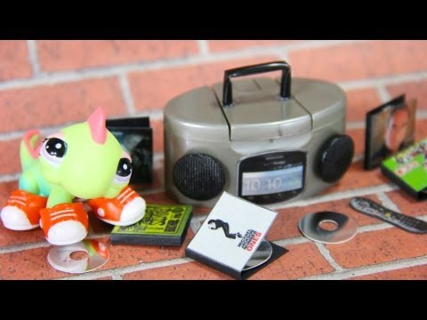 How to Make A Doll Stereo and CDs