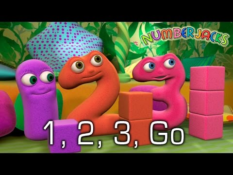 NUMBERJACKS | 1, 2, 3, Go | S1E38