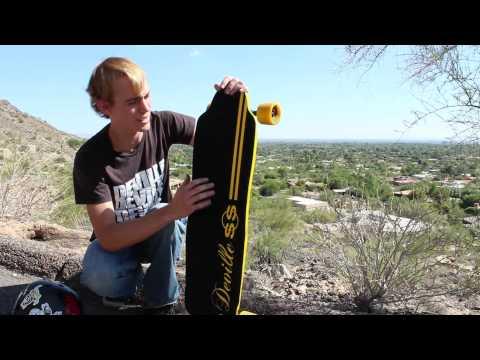 2012 Deville Super Sport Longboard Deck