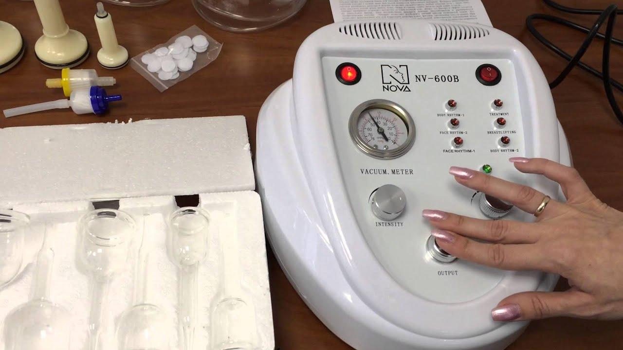 Аппарат вакуумного массажа nova nv-600