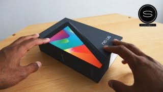 Google Nexus 7 UK Unboxing