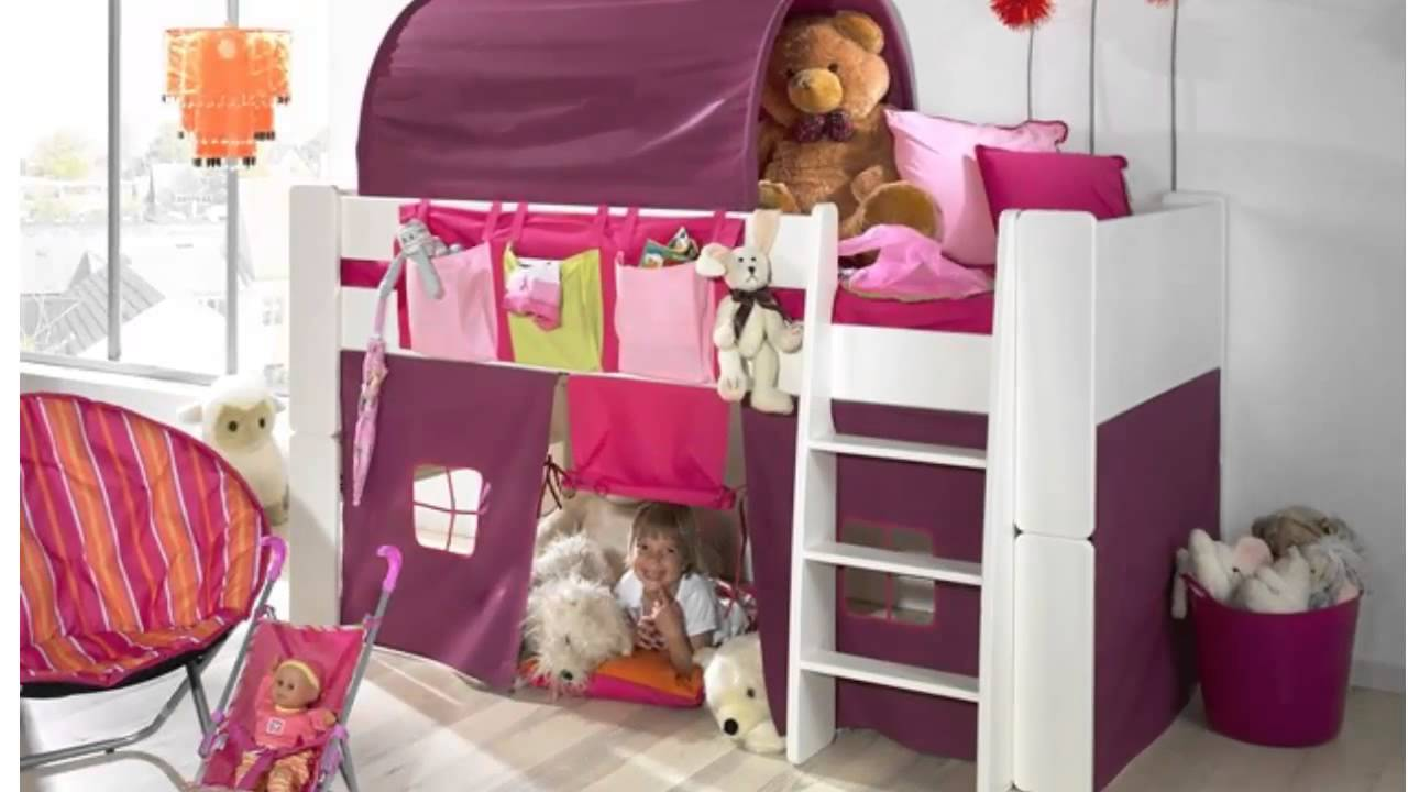 lit enfant mezzanine youtube. Black Bedroom Furniture Sets. Home Design Ideas