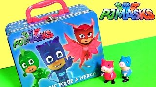 Disney PJ Masks Toys Lunchbox Surprise Owlette Gekko Catboy Baby Twozies Play-Doh Vinylmation Clay