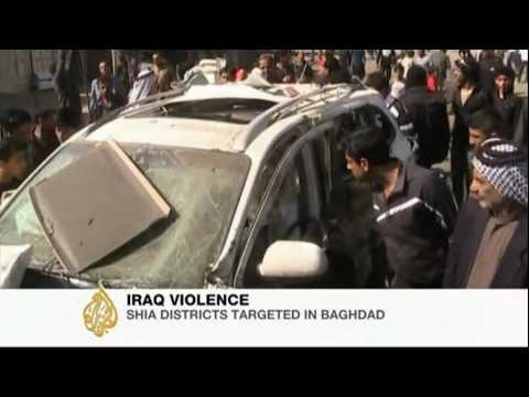 Multiple car bomb attacks target Iraq's Shia community