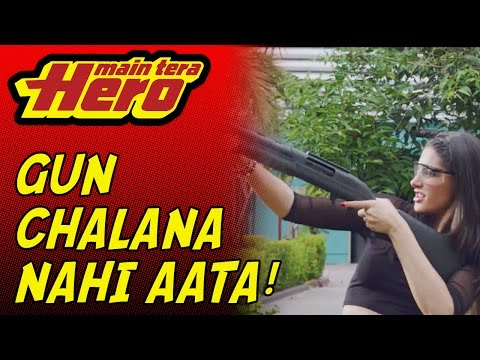 Scene From Main Tera Hero | Gun Sequence