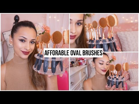 FIRST IMPRESSIONS AMAZON OVAL BRUSHES! Docolor Review