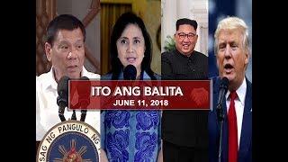 UNTV: Ito Ang Balita (June 11, 2018)
