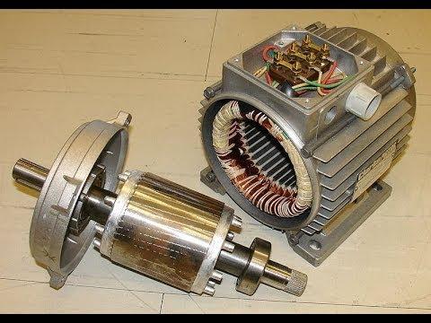 как работает асинхронный двигатель