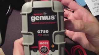 NOCO Wicked Genius G750 .75A 750mA 6v or 12v Charger by onza04