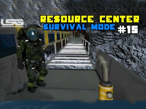 Space Engineers -  Resource Management Center, Maximum Production SE2 - Part 15