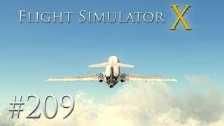 Let's Play: Flight Simulator X [209] [HD] Wie geht das?