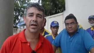 Servidores dos Correios realizam paralisação em Goiana-Trecho1