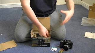 Fujifilm Finepix S2950 BRIDGE Unboxing