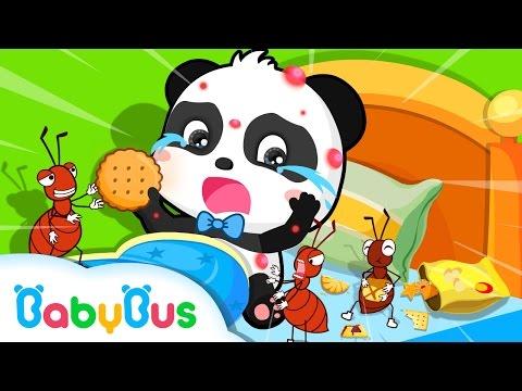 침대에서 음식을 먹지 않아요 생활습관 유아교육 베이비버스 생활동화 어린이 인기동화