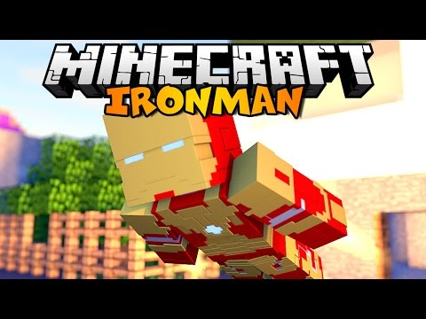 Minecraft   IRON MAN NO MODS   Minecraft Vanilla