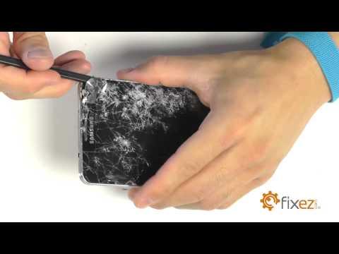 Samsung Galaxy Note 3 N900T Screen Repair & Disassemble