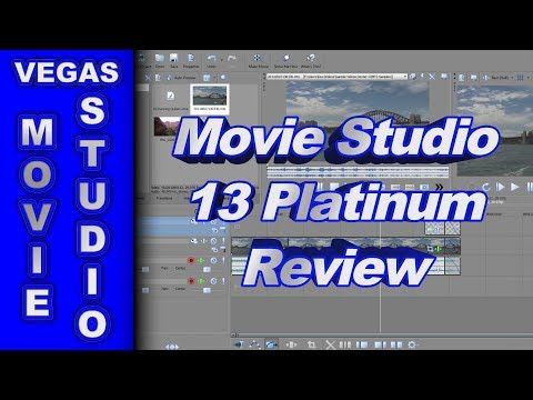 Review of Sony Movie Studio Platinum 13
