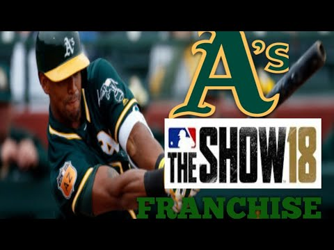 MLB The Show 18 (PS4) Rays vs Athletics Game 3 (Full Broadcast Presentation)