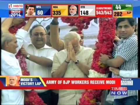 Narendra Modi's victory lap - 1