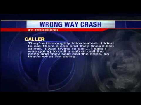 0 Bar Cited Following Wrong Way Crash