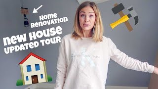 NEW HOUSE TOUR RENOVATION UPDATE!