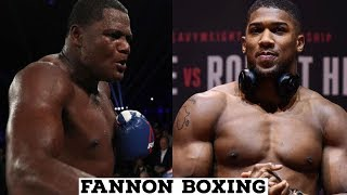 ANTHONY JOSHUA NEEDS TO FIGHT LUIS ORTIZ NOW |  KING KONG BEST OPTION TO REPLACE MILLER