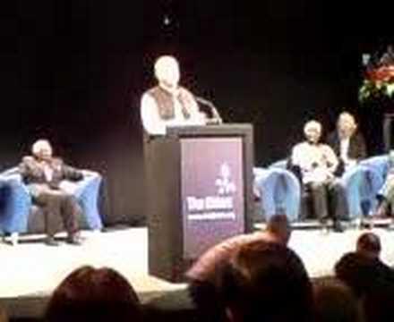 Peter Gabriel singing Biko at the launch of The Elders