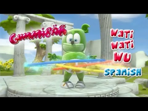 Wati Wati Wu Spanish Español Gummibär Osito Gominola Gummy Bear Song video
