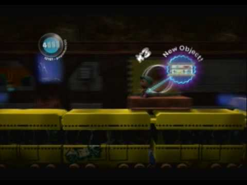 Little Big Planet (PS3) Gameplay Part 15 (The Metropolis - Subway)