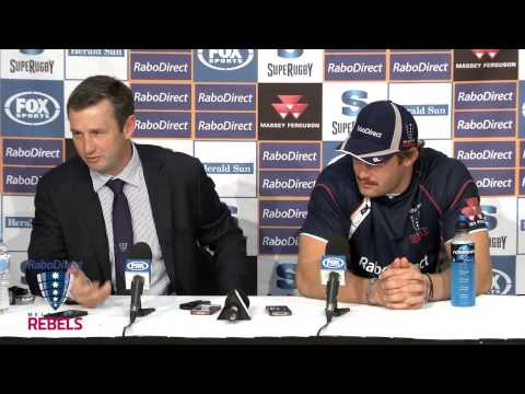 Rebels v Chiefs post match press conference | Super Rugby Video Highlights