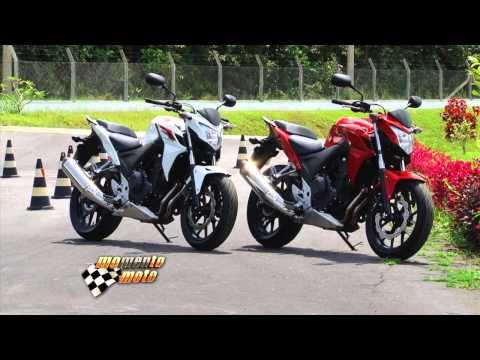 Nova Honda CB 500 F