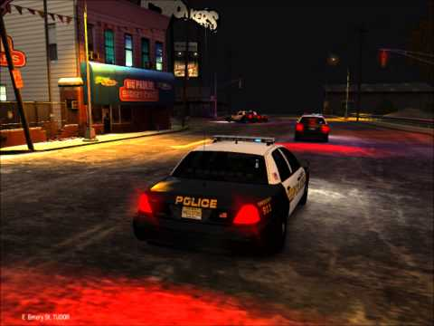 GTAIV Paterson police chase