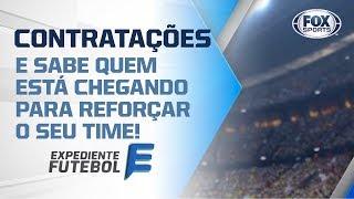 MERCADO DA BOLA! Quais as contratações já acertadas pelos clubes brasileiros