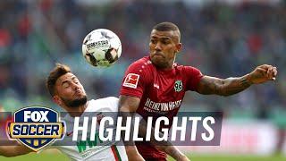 Hannover 96 vs. FC Augsburg   2018-19 Bundesliga Highlights