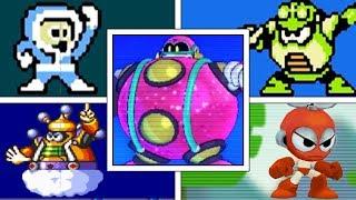 Evolution Of Robot Masters (Bosses) Intro Screen Animations in Mega Man Series (Mega Man 1 - 11)