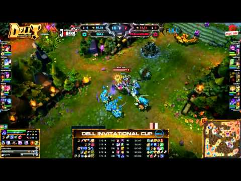 [DIC Mùa 1] [Game 1] Saigon Jokers vs Full Louis [26.02.2013]