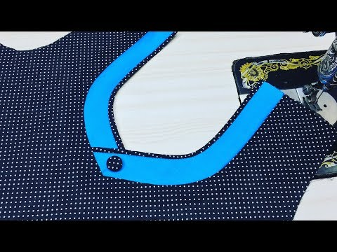 Latest Churidar And Easy Neck Design Cutting and Stitching