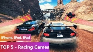 TOP 5 - Racing Games 2014 (iPhone, iPod, iPad)