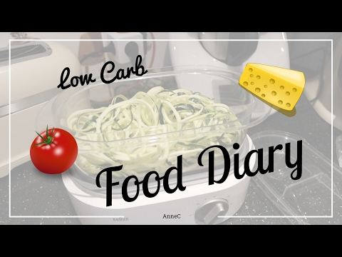 Food Diary | Meine Ernährung | Low Carb | AnneC