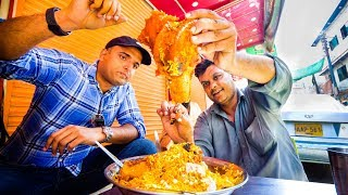 Street Food in Karachi, Pakistan - GIANT BONE MARROW BIRYANI + Ultimate Pakistani Street Food!