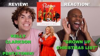 Pentatonix Feat Kelly Clarkson Grown Up Christmas List Patron Request