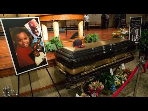 Mike Brown's Funeral (Full) in HD