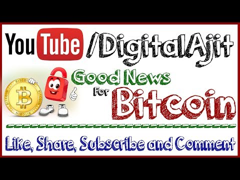 Breaking News About Bitcoin Watch this good news