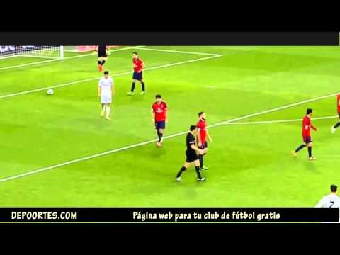 Real Madrid 4 Osasuna 0  by depoortes.com 2 Golazos de Cristiano
