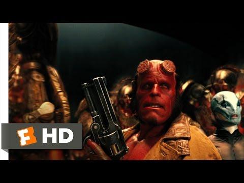 Amazoncom Hellboy II The Golden Army Three Disc