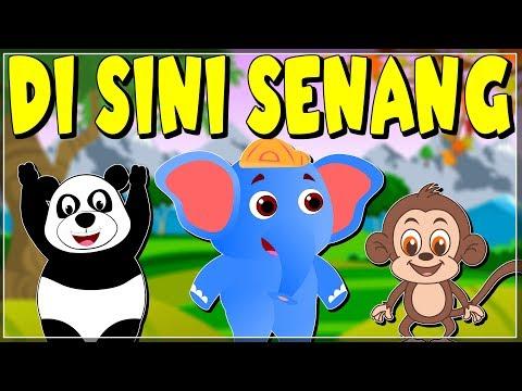 download lagu Di Sini Senang | Versi Baru | Lagu anak terpopuler